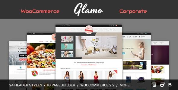Glamo - Responsive WordPress Ecommerce Theme 4