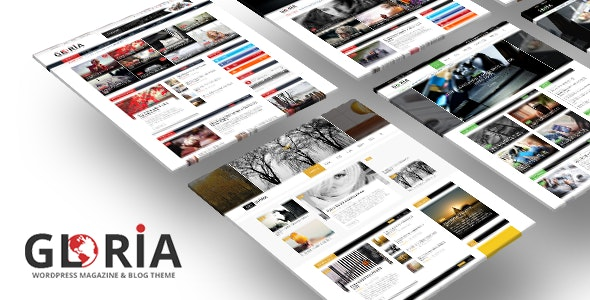 Gloria - Responsive eCommerce News Magazine Newspaper WordPress Theme 1