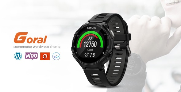 Goral SmartWatch - Single Product Woocommerce WordPress Theme 1