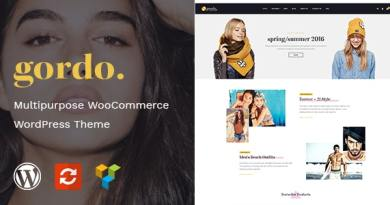 Gordo - Fashion Responsive WooCommerce WordPress Theme 2