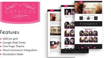 Gothicus - WordPress Shop 3