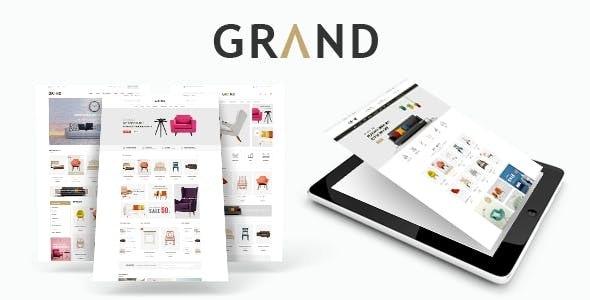 Grand - Responsive Furniture WooCommerce WordPress Theme 1