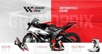GrandPrix - Motorcycle WordPress Theme 33