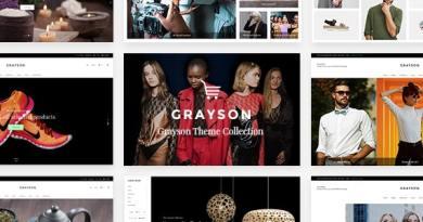 Grayson - Clothing Shop Theme 3