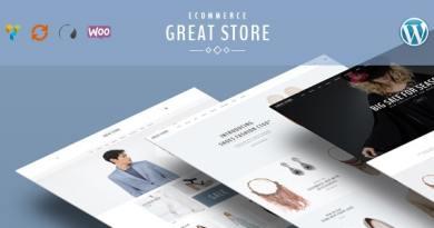 GREAT STORE – Responsive WordPress Theme eCommerce 20