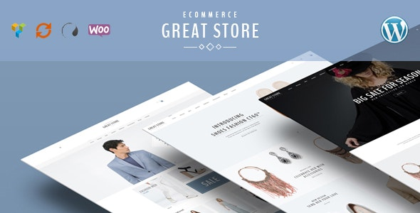 GREAT STORE – Responsive WordPress Theme eCommerce 2