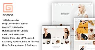 Grosso - Modern WooCommerce theme for the Fashion Industry 5