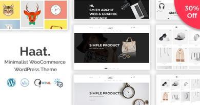 Haat - Minimalist WooCommerce WordPress Theme 6
