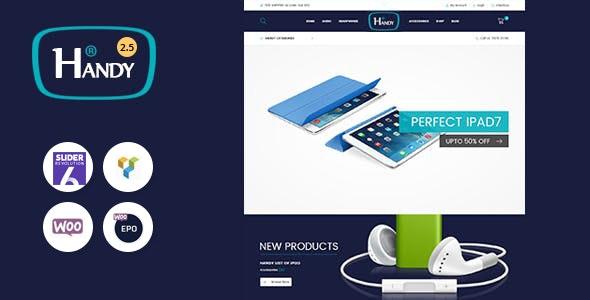 Handy Shop - Digital RTL Responsive WooComerce WordPress Theme 1
