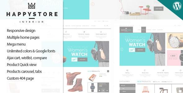 HappyStore - Responsive WordPress WooCommerce Theme 11