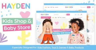 Hayden - Kids Store WooCommerce Theme 32