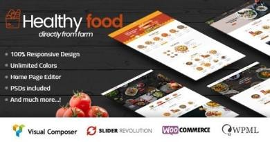 HealthyFood - Multipurpose WooCommerce Theme (RTL Supported) 4