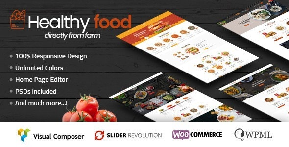 HealthyFood - Multipurpose WooCommerce Theme (RTL Supported) 1
