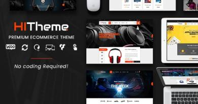 HiTheme - Digital Store & Fashion Shop WordPress WooCommerce Theme (Mobile Layout Ready) 6
