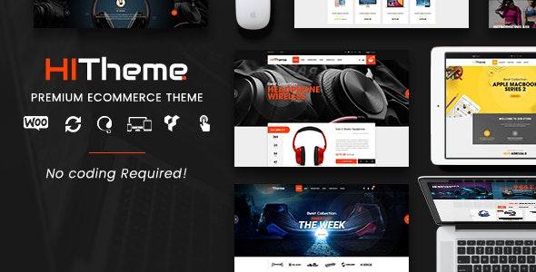 HiTheme - Digital Store & Fashion Shop WordPress WooCommerce Theme (Mobile Layout Ready) 1