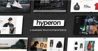 Hyperon - Clothing WooCommerce Theme 3