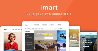 iMart Multipurpose eCommerce WordPress Theme 3