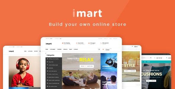 iMart Multipurpose eCommerce WordPress Theme 1