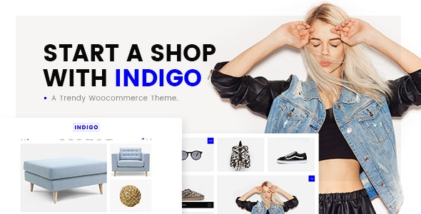 Indigo - Simple WooCommerce Shop 1