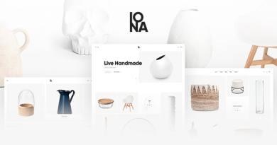 Iona - Handmade & Crafts Shop WordPress Theme 2