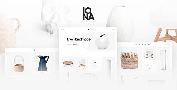 Iona - Handmade & Crafts Shop WordPress Theme 1