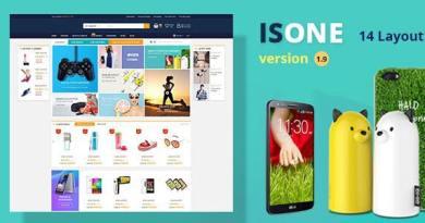 IsOne Store - RTL  WooCommerce WordPress For Digital Theme 17