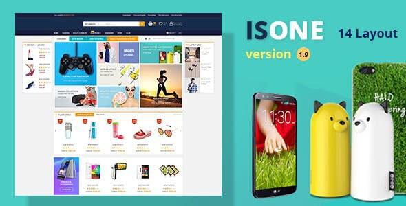 IsOne Store - RTL WooCommerce WordPress For Digital Theme 1