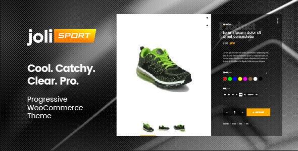 joli-sport - Progressive WooCommerce Theme 1