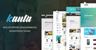 Kanta - Multipurpose WooCommerce WordPress Theme 4
