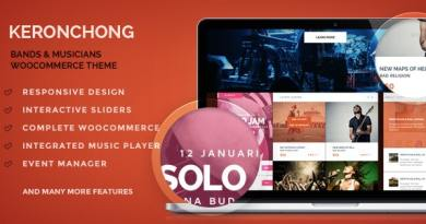Keronchong – Band, Music & Event WooCommerce Theme 4