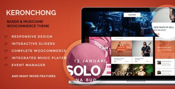 Keronchong – Band, Music & Event WooCommerce Theme 2