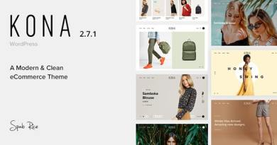 Kona - Modern & Clean eCommerce WordPress Theme 34