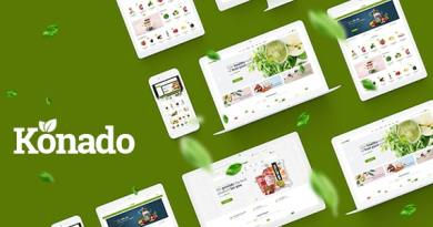 Konado - Organic Theme for WooCommerce WordPress 2