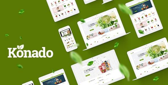 Konado - Organic Theme for WooCommerce WordPress 21