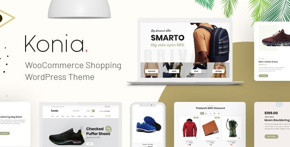 Konia - Responsive WooCommerce WordPress Theme 1