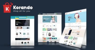 Korando - Multipurpose Theme for WooCommerce WordPress 2