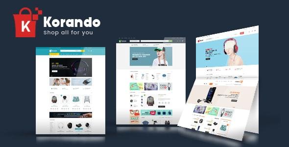Korando - Multipurpose Theme for WooCommerce WordPress 58