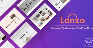 Lanzo - Gutenberg WooCommerce WordPress Theme 3