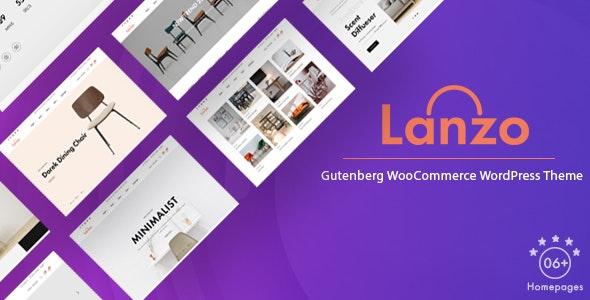 Lanzo - Gutenberg WooCommerce WordPress Theme 6