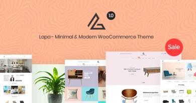 Lapa - Minimal & Modern WooCommerce Theme 3