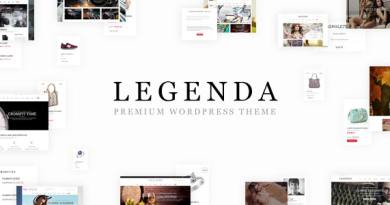 Legenda - Responsive Multi-Purpose WordPress Theme 2