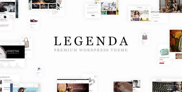 Legenda - Responsive Multi-Purpose WordPress Theme 5