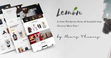 Lemon | A Clean and Smooth WooCommerce WordPress Theme 16