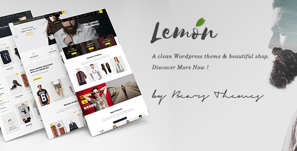Lemon | A Clean and Smooth WooCommerce WordPress Theme 1