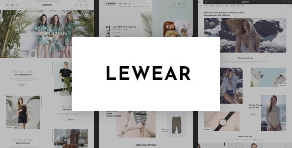 Lewear - Fashion Multipurpose WooCommerce Theme 6