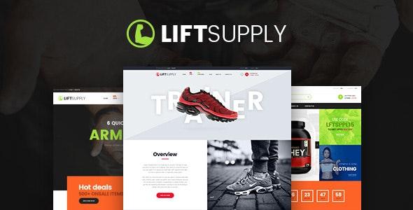 LiftSupply - Creative Single Product WooCommerce WordPress theme 1