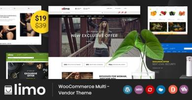 Limo - Multipurpose WooCommerce Theme 3
