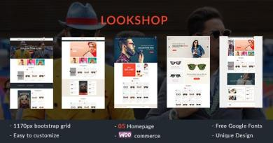 Lookshop - Responsive WooCommerce WordPress Theme 7