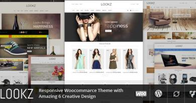 Lookz - Multipurpose Wordpress Theme 4