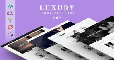 Luxury - Wonderful Responsive WooCommerce Theme 2